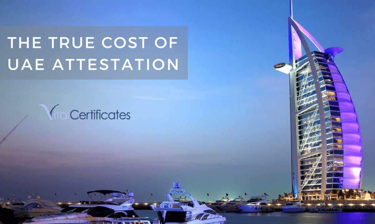 True Cost of UAE Attestation