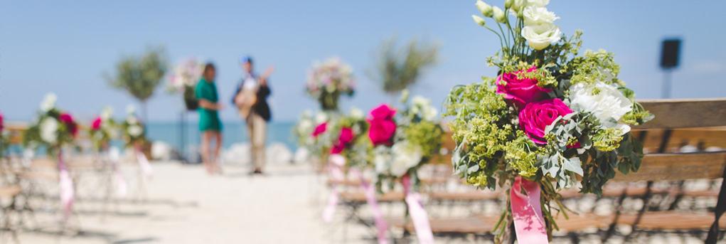 beach wedding overseas marriage