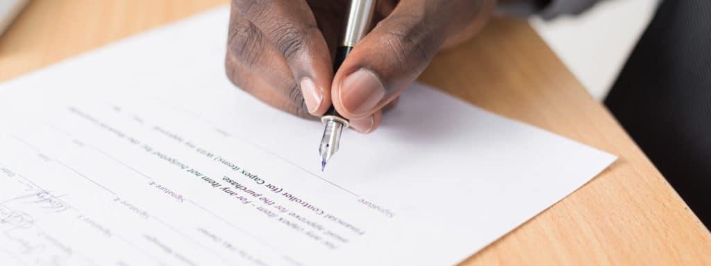 power of attorney signature